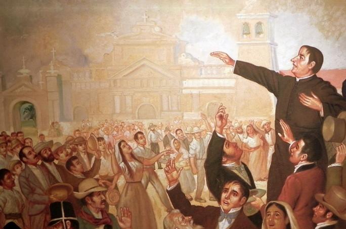 Independencia de España el salvador