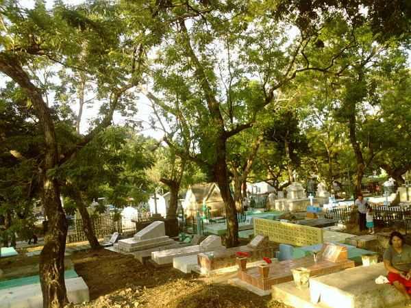 Cementerio en el salvador
