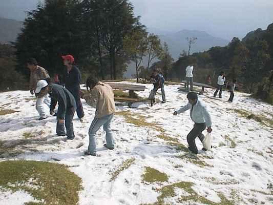 cerro el pital con nieve