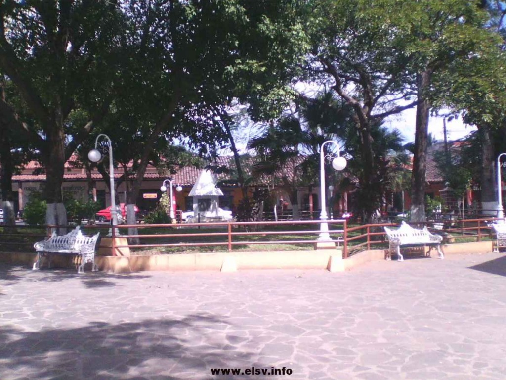 parque de Sensuntepeque