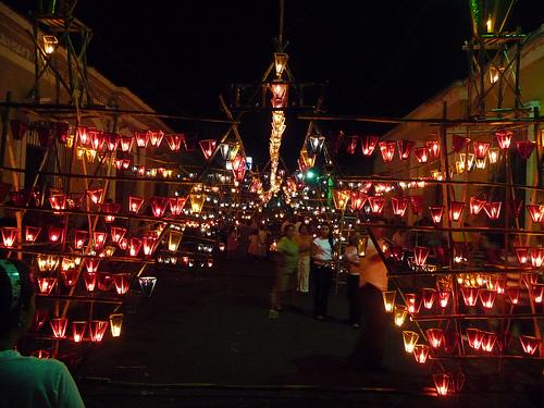 Fiesta de los farolitos Luces y diversión en Ahuachapán