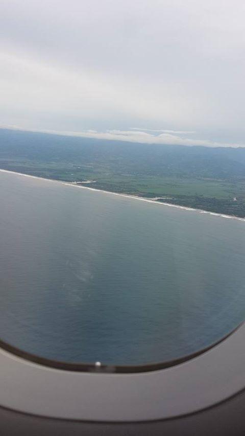 Vistas areas de la llegada a El Salvador (3)