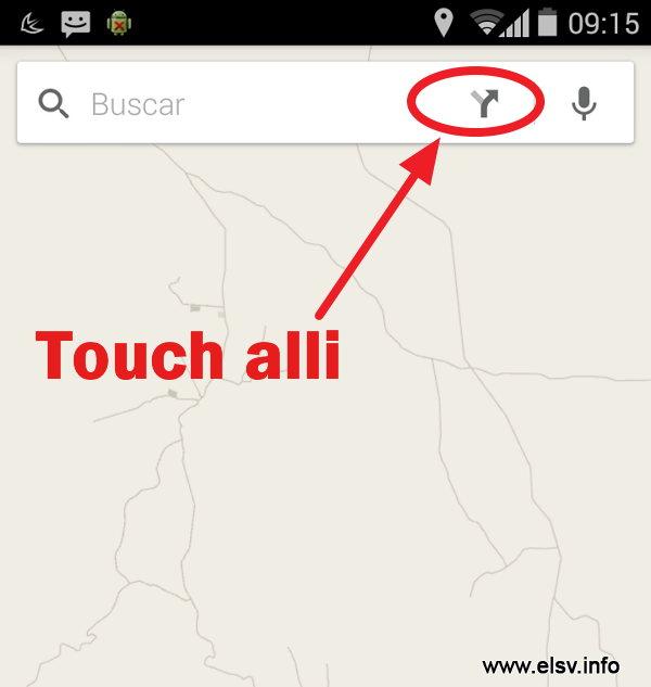 Google Maps con voz en el salvador