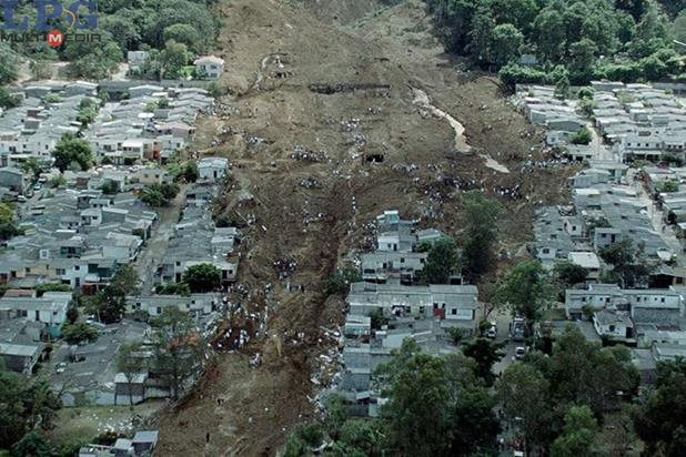 Desastres naturales en El Salvador