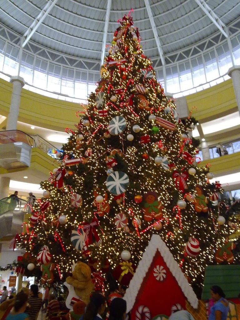 Arbol de Navidad de MetroCentro San Salvador