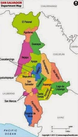 Municipios de San Salvador con Imagen