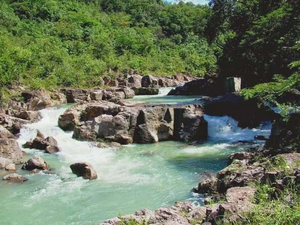 Rio sapo en perquin morazan
