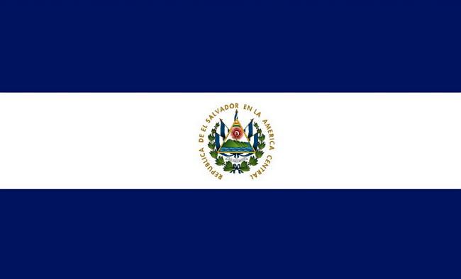 Bandera De El Salvador Imagenes Elsv