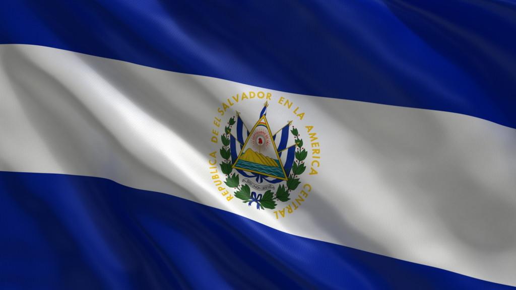 Bandera De El Salvador (Imagenes)