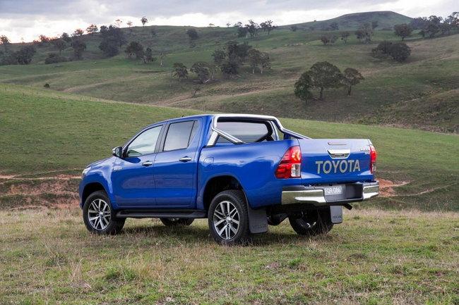 Foto del Toyota Hilux 2016 El Salvador