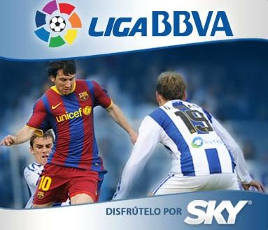 Liga española El Salvador por Sky