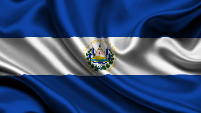 bandera de El Salvador Imagen