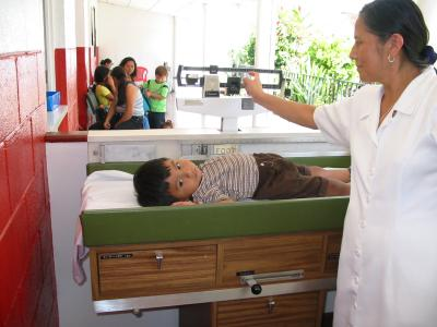 servicio de Salud de El Salvador