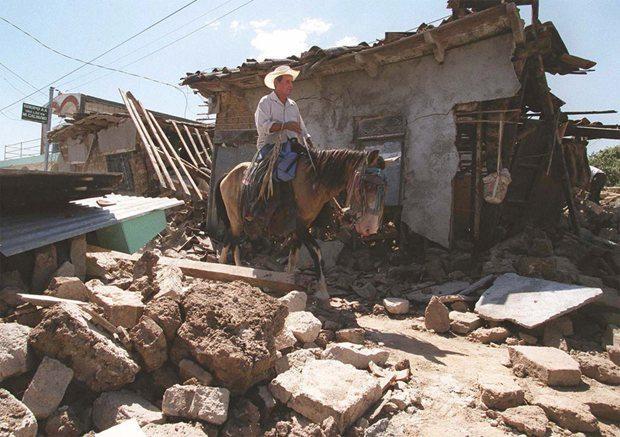 Terremotos en El Salvador historia