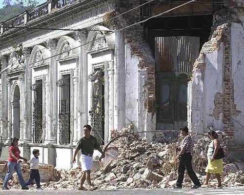 Terremotos en El Salvador