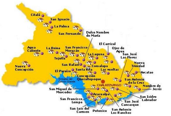 municipios de chalatenango