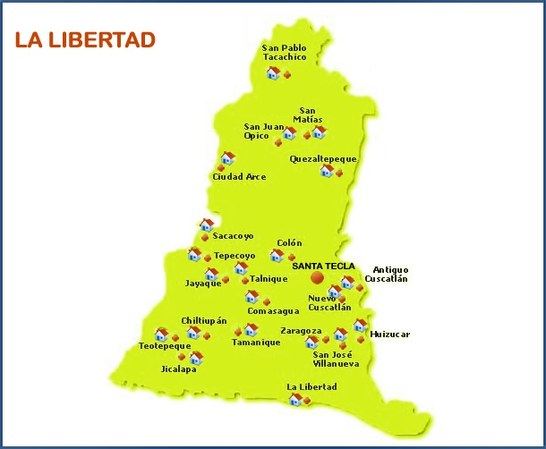 Municipios de La libertad