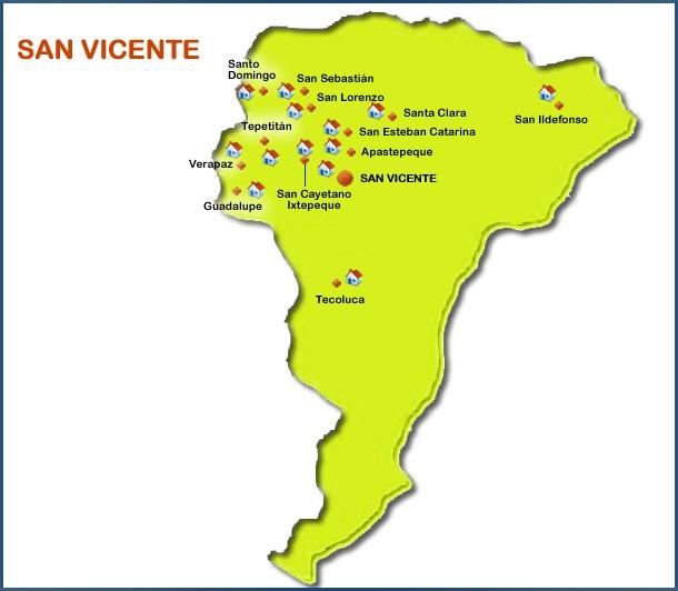 municipios de san vicente