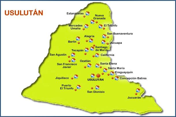 municipios de usulutan