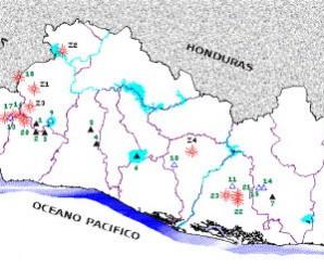 Principales volcanes de El Salvador