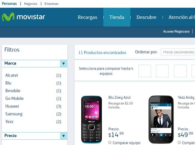 Tienda Movistar El Salvador