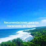 Thumbnail Recomendaciones para las vacaciones de agosto