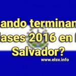 Thumbnail Cuando terminan las clases 2016 en El Salvador