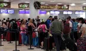 Aeropuertos llenos