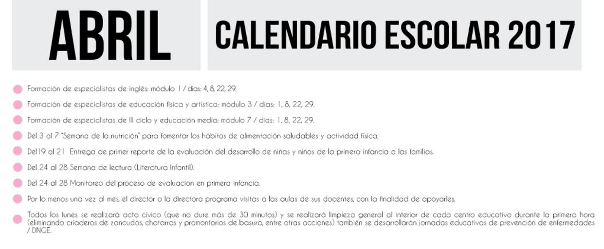 004 abril calendario escolar 2017