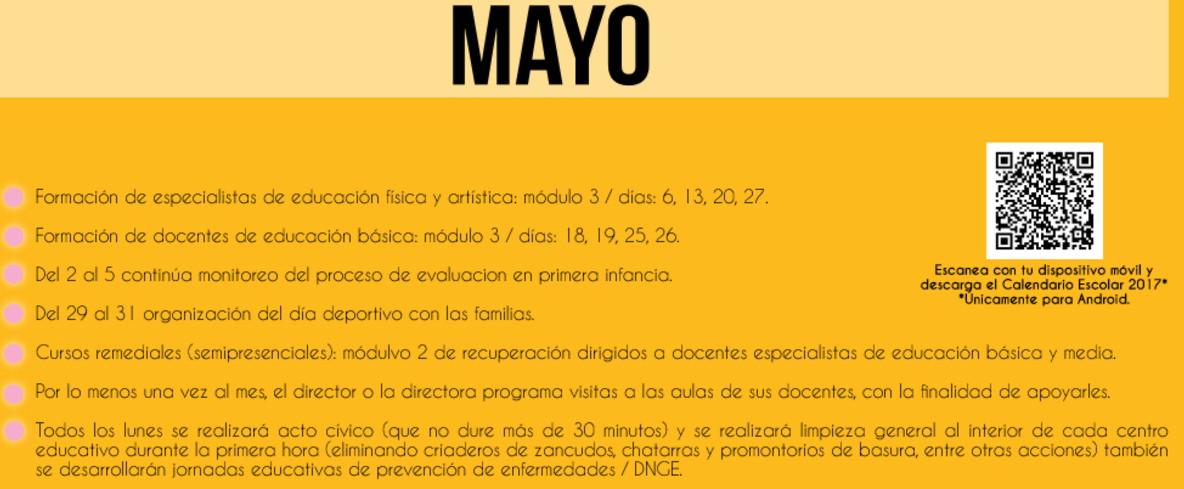 005 mayo calendario escolar 2017