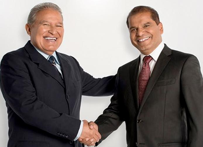 presidente y vice presidente el salvador