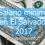 Thumbnail Salario mínimo en El Salvador 2017