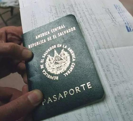 Sacar pasaporte en El Salvador