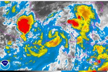 imagen del huracan barbara