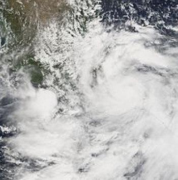 imagen del huracan stan