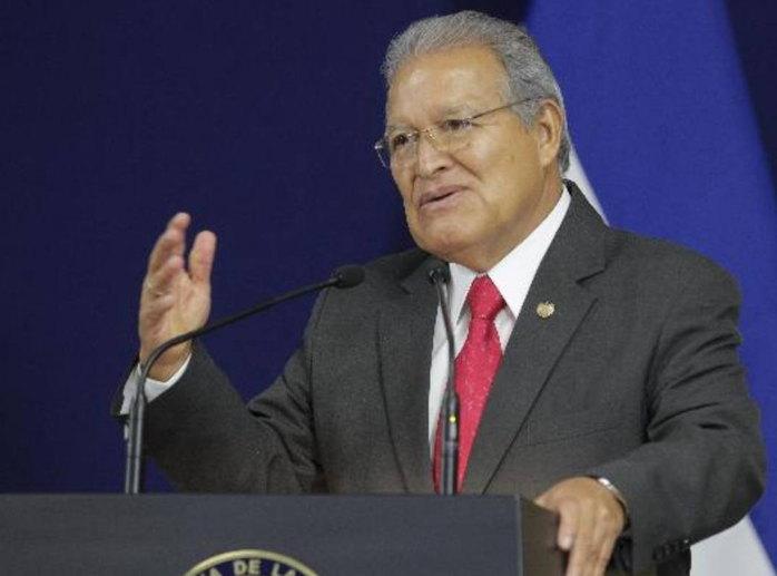 imagen de Sánchez Cerén