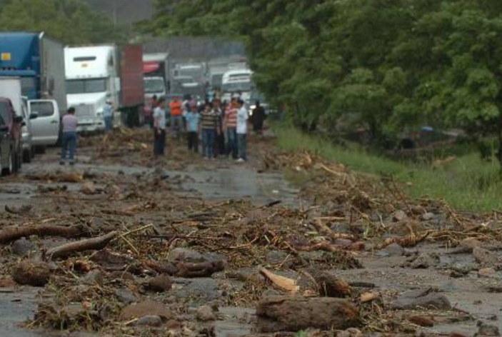 Zonas de algo alto riesgo en El Salvador