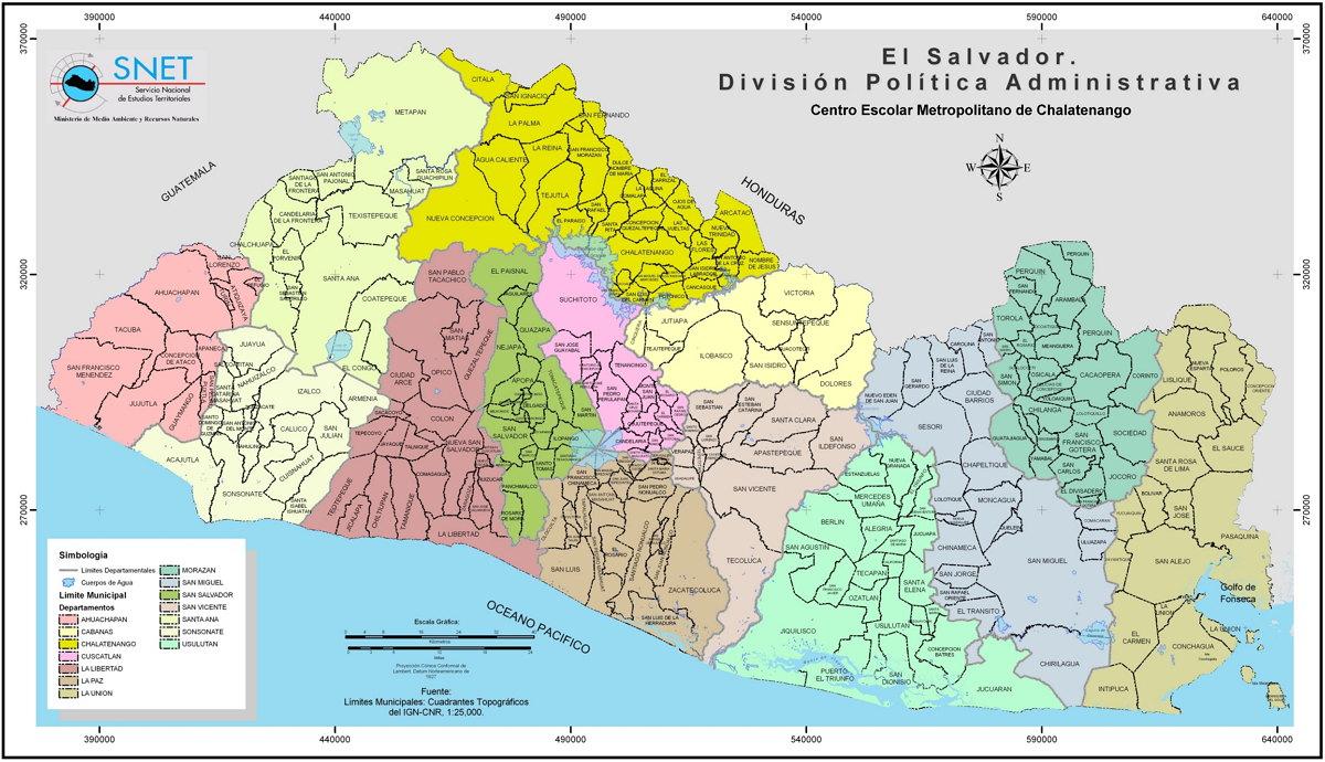 imagen todos los municipios de El Salvador