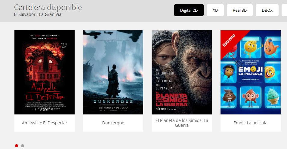 estrenos cinemark