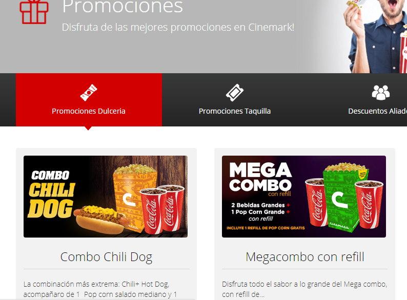promociones cinemark