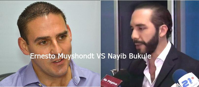 Ernesto Muyshondt VS Nayib Bukule