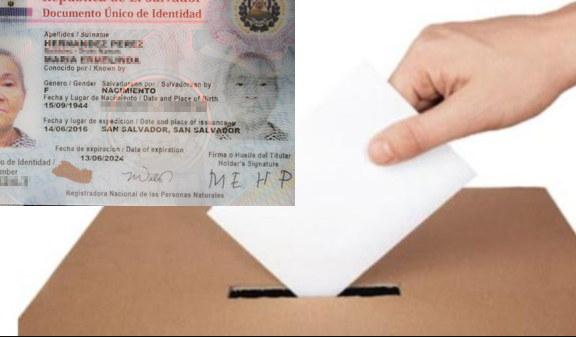 ir a votar con el DUI vencido