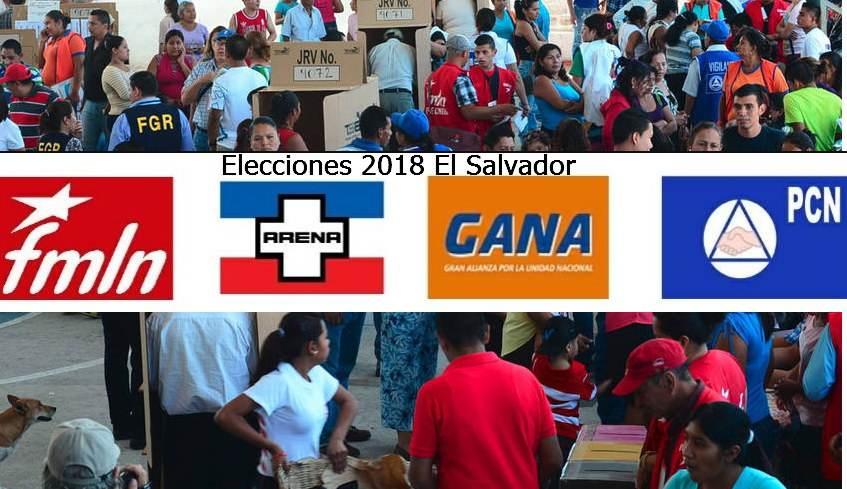 resultados de elecciones 2018 el salvador 4 de marzo