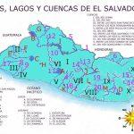 Thumbnail Mapa de El Salvador con sus ríos y lagos