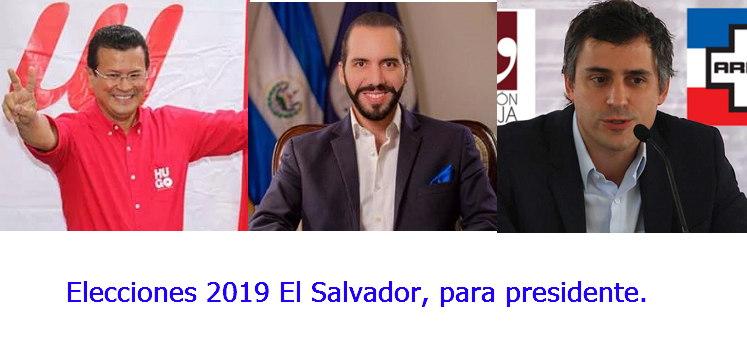 elecciones 2019 presidenciales el salvador