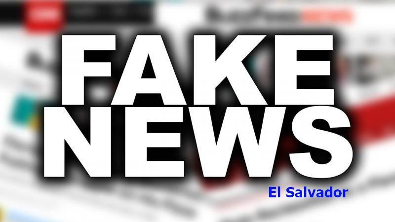 Fake News en El Salvador