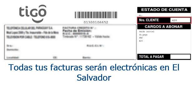facturas serán electrónicas en El Salvador