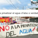 Thumbnail Privatización del agua en El Salvador: Es falso o verdadero