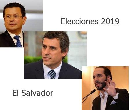 Candidatos a la presidencia de El Salvador 2019