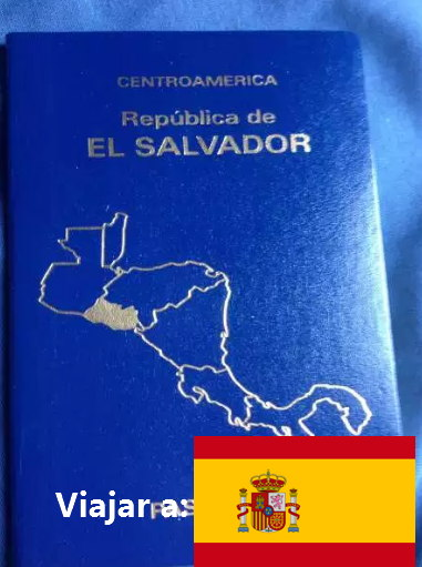 necesito visa para ir a España pregunta salvadoreña